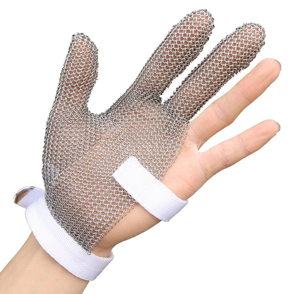 304l Stainless Steel Mesh Cut Resistant Protective Gloves